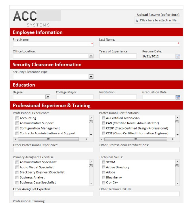 8 Reasons HR Departments Use SharePoint blog (Xgility DC MD VA Consulting) Picture 2