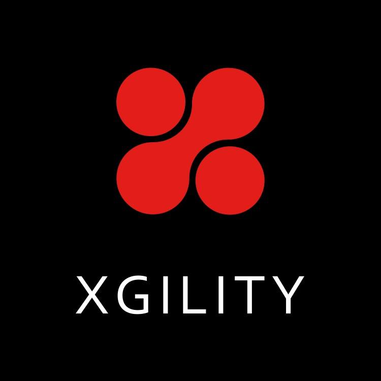 Xgility Black Red Logo Square SharePoint Consulting