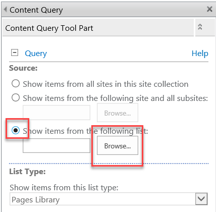 Content Query Web Part and Links – Navigation Solution | Xgility